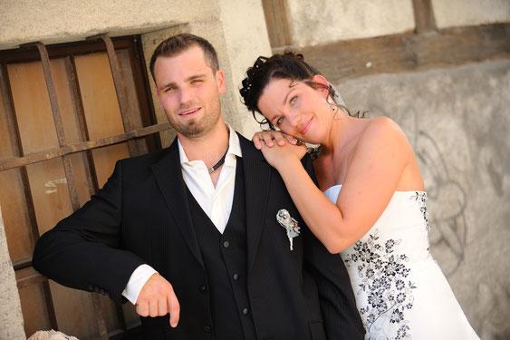 Bei einer Hochzeit in Bremgarten