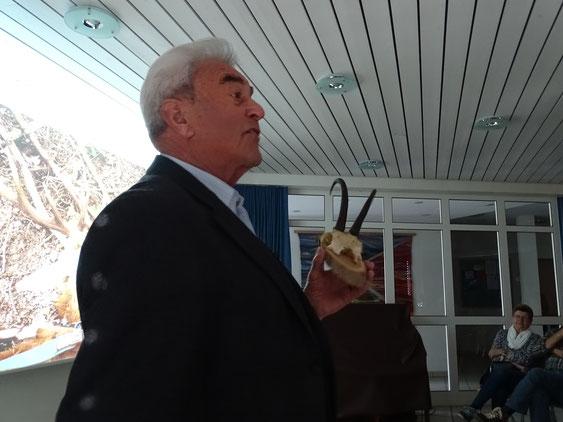 Unser Präsident Kaspar Zimmermann begrüsst