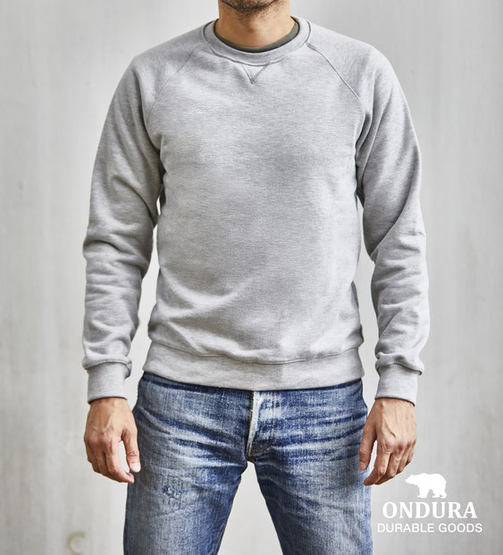Ondura Sweatshirt crew neck made in germany