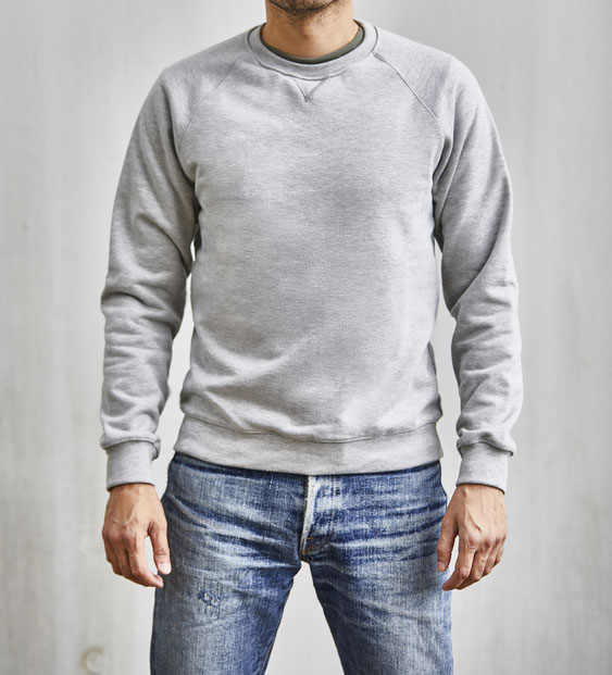 ondura crew neck sweatshirt made in germany