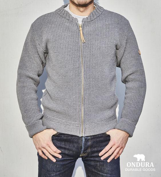 ONDURA knitted cardigan pure merino wool