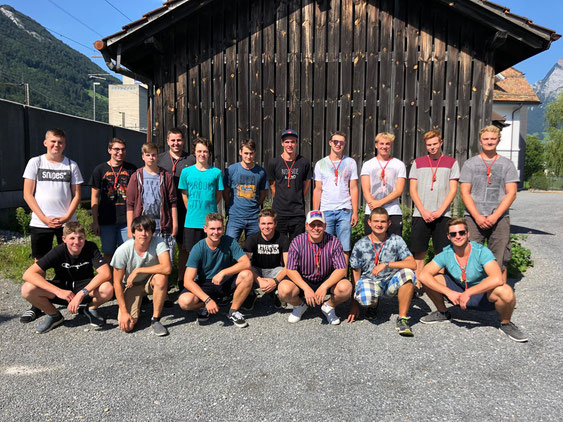 Leiterteam JWB, August 2019
