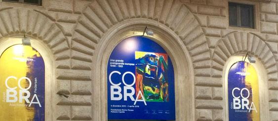 CoBrA exhibition at Palazzo Cipolla - photo by Alessia Paionni