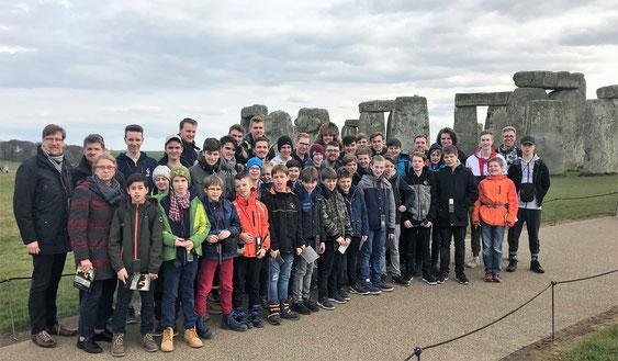 Am weltberühmten Steinkreis von Stonehenge