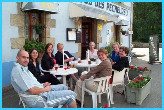 Le lendemain des festivités un moment de détente à Pont-Augan