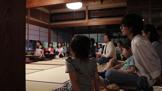 淡河宿本陣跡でクラシックコンサートには小さなお子さんも参加してくださりました。