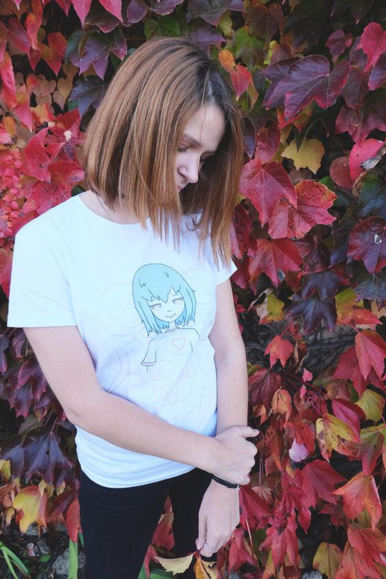 T shirt hypocrisy design ecchymose geek manga