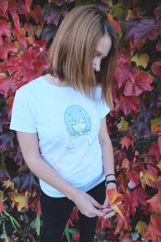 ecchymose hypocrisy tshirt design geek manga