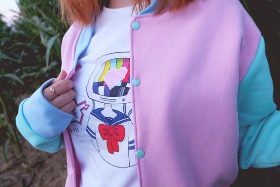 Sweat teddy pastel harajuku style
