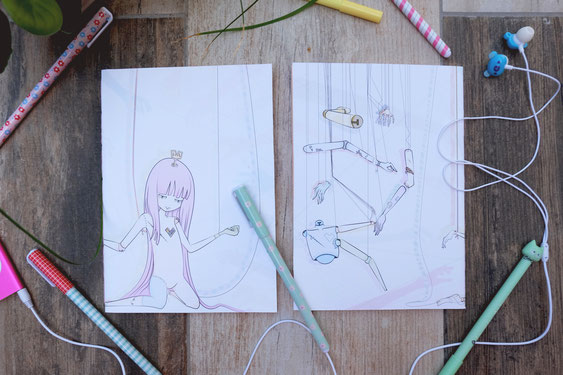 Princesse doll carnet de note