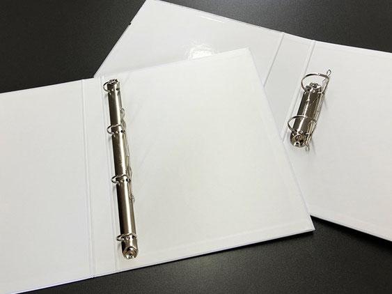 Ringmappen oder Hebelordner aus der Druckerei SATZDRUCK in Coesfeld