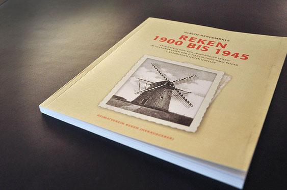 Reken 1900 bis 1945 - Ulrich Hengemühle setzt auf Satzdruck für Layout, Druck und Produktion