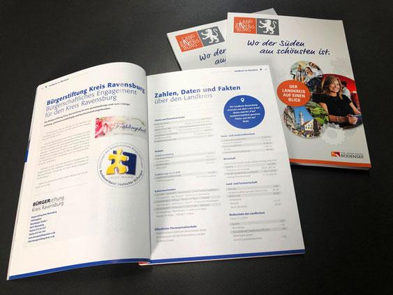 Neues Standortmagazin für den Landkreis Ravensburg – Gestaltung, Satz und Druck von SATZDRUCK aus Coesfeld