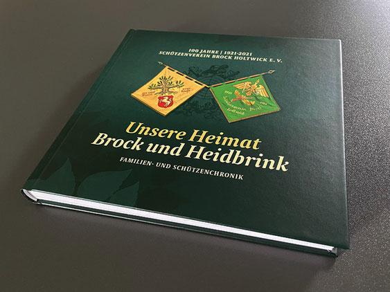 Neue Chronik des Schützenvereins Brock Holtwick e.V. - Druck und Layout von Satzdruck
