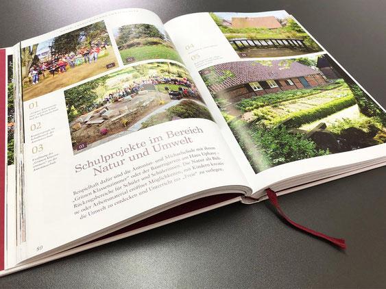 Die Chronik der Gemeinde Reken, gestaltet und gedruckt bei Satzdruck.
