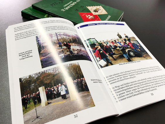 Die selbstgestaltete Chronik eines Heimatvereins – Druck Satzdruck Coesfeld