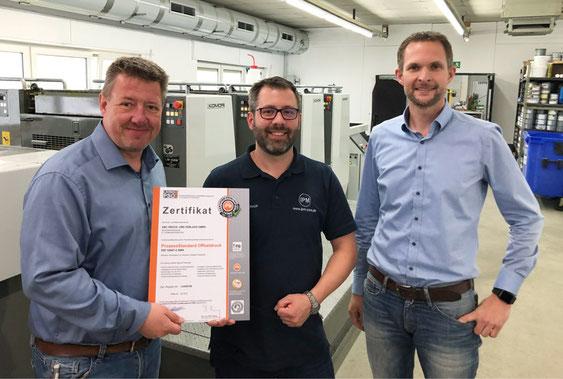 Erneut für 2019 / 2020 Living PSO! zertifiziert - Druckerei SATZDRUCK aus Coesfeld / Lette (NRW)
