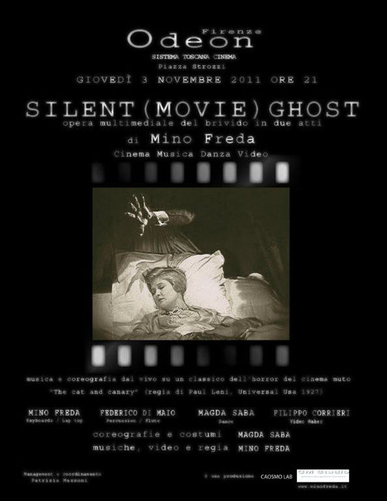 Silent(movie)Ghost  Odeon Firenze 03/11/2011