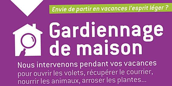 Gardiennage maison Vergèze Montpellier