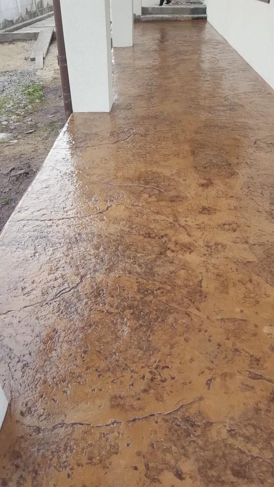 pavaj beton amprentat Brasov
