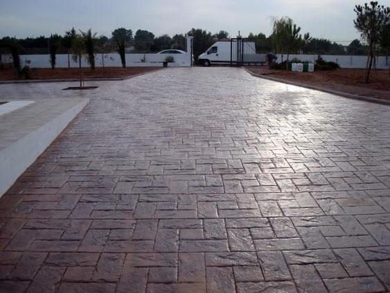 pavaj beton amprentat timisoara