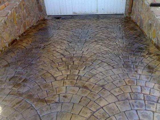 beton amprentat ploiesti