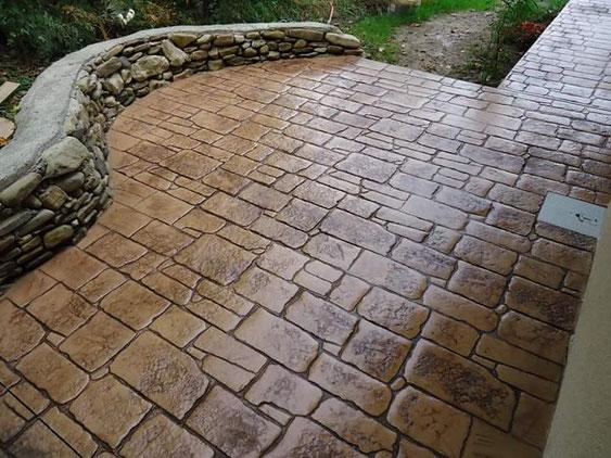pavaj beton amprentat craiova