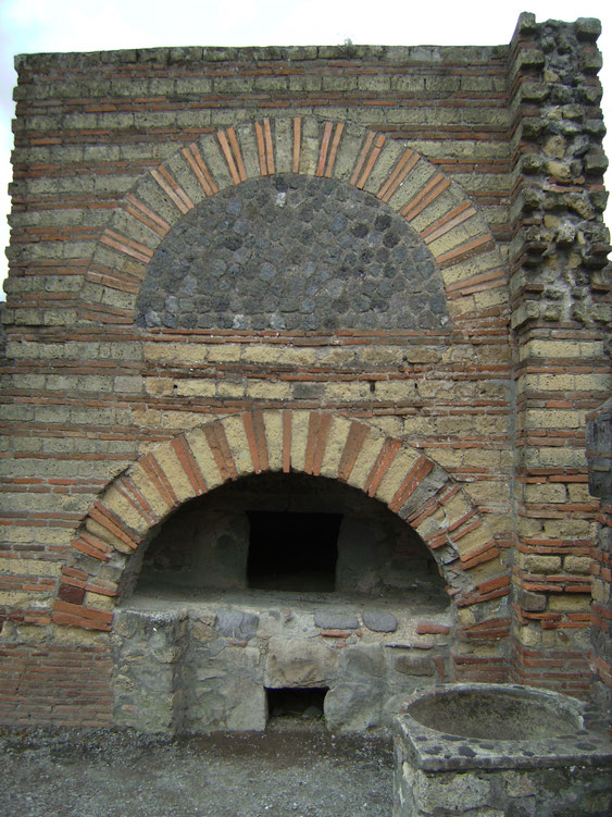 Bäckerei in Pompeji