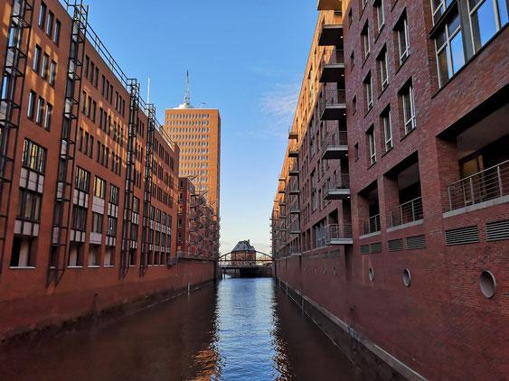 Die historische Speicherstadt