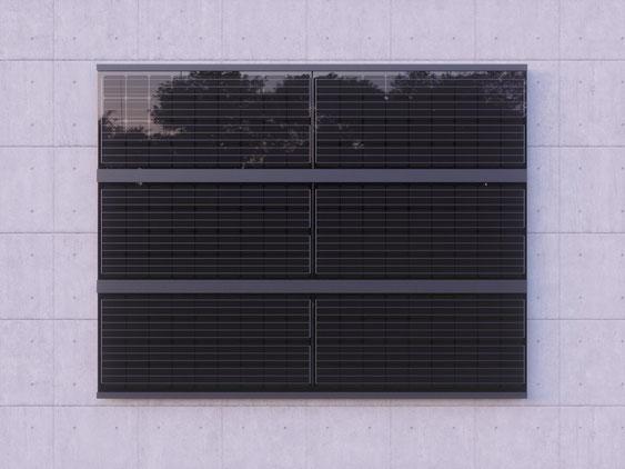 Solarfassade Profile