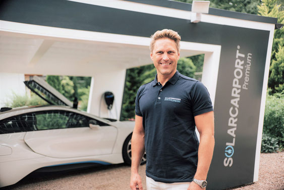 Vertriebsmitarbeiter Alu Solarcarport Anton Graner