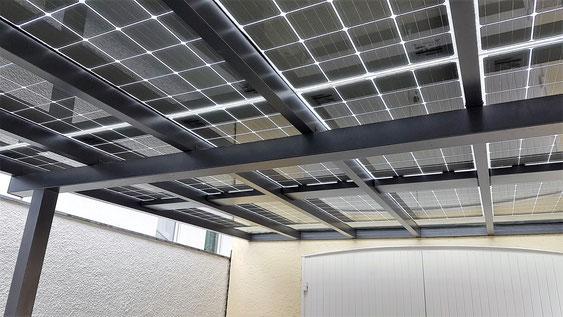Alu Carport Solar