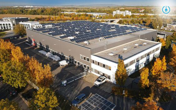 Solarmodulproduktion Solarterrassen & Carportwerk GmbH - Werk II Erfurt