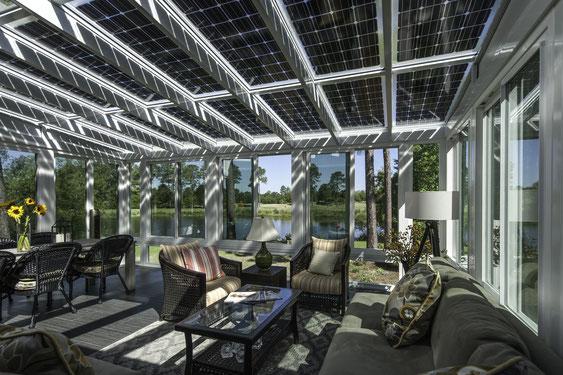 Solar Wintergarten