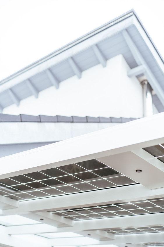 Aluminium Solarterrassendach