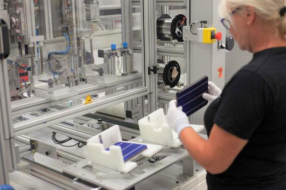 Photovoltaik Produktion Deutschland