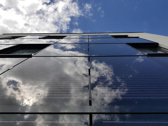 Premium Solarglas Solarfassade