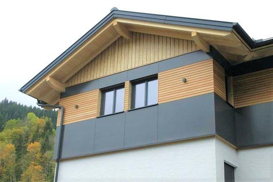 HPL Platten für die Fassadenverkleiung