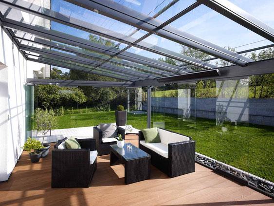 Terrassendach Heizstrahler Wärmestrahler