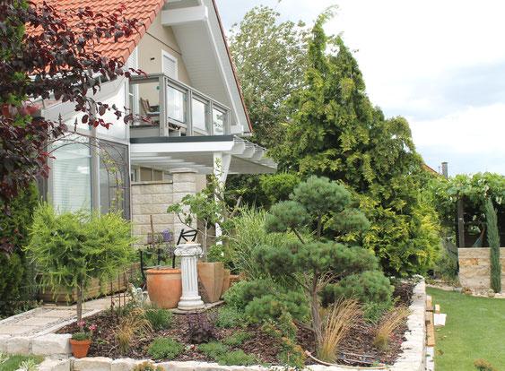 Wintergarten oder Terrassenüberdachung