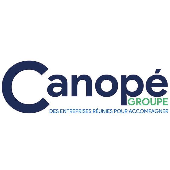 Création graphique du logo Canopé