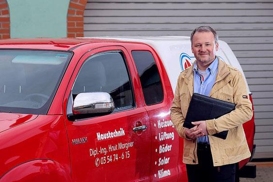 Knut Morgner Inhaber von Morgner Haustechnik