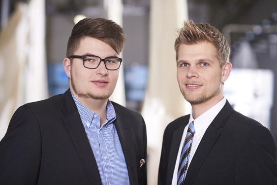 Nicolai und Jéròme Diener haben nach fundierter Ausbildung eigene Aufgabengebiete innerhalb der Geschäftsleitung übernommen.