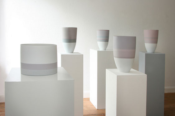Karin Bablok | Porzellanunikate farbig