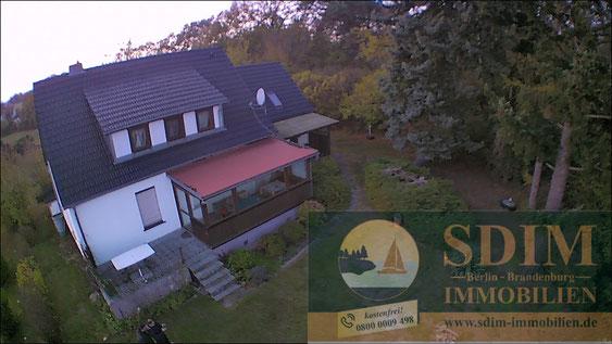 Haus direkt am Wasser im Touristengebiet am Schwielochsee