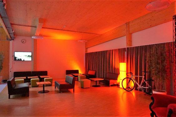 Die VIP-Lounge im Tissot Velodrome