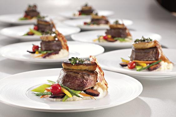 Dine&Shine bietet ein Hallencatering auf höchstem Niveau im Tissot Velodrome