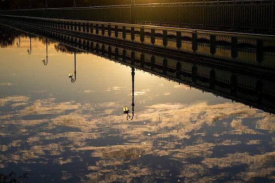 Le pont canal de Briare dans le Loiret