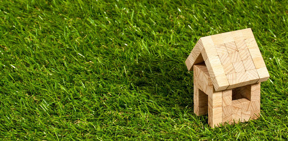 Schemenhafte Darstellung eines Hauses