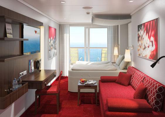 Balkonkabine AIDAnova // © Cruise Paper